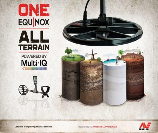 Minelab Equinox 600 All-Terrain Metal Detector