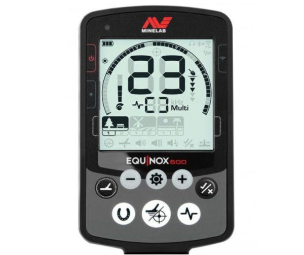 Minelab Equinox 600 Control Display