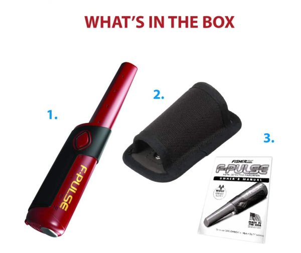 Fisher F-pulse Pinpointer - what is included in the package